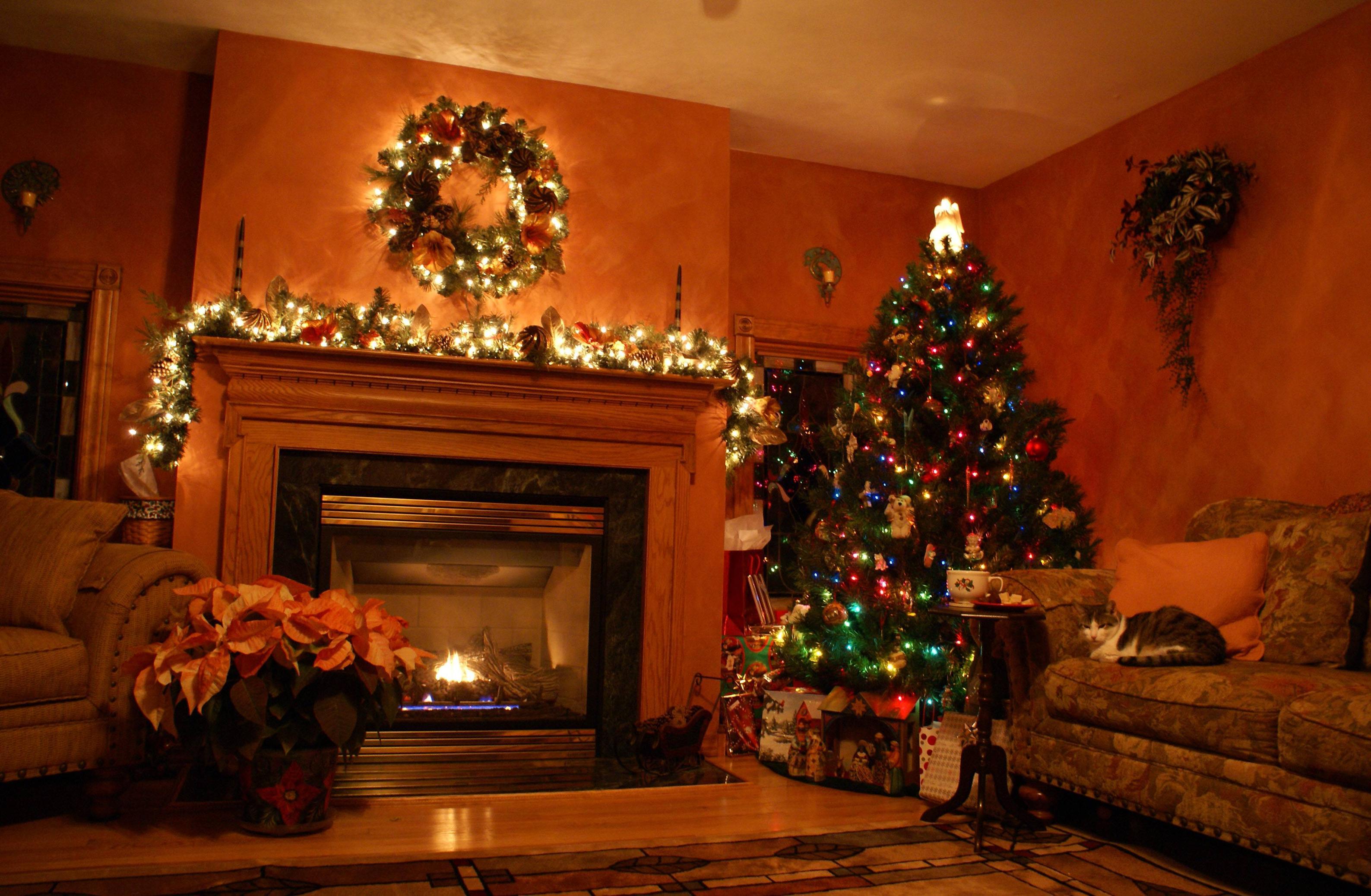 выполнения его новогодний украшенный зал картинки случае