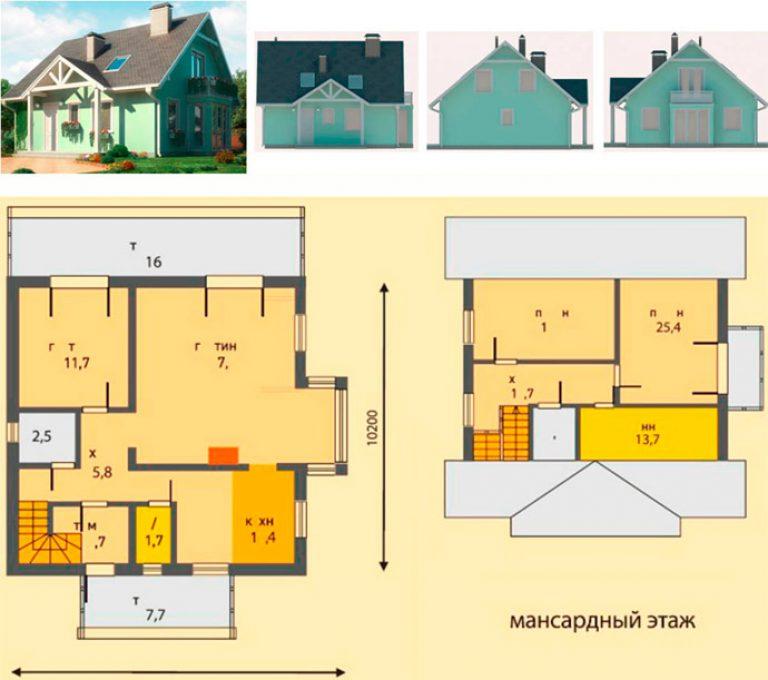 Progetto di una casa best progetto di di una casa anni u for Quanto costa una casa a due piani