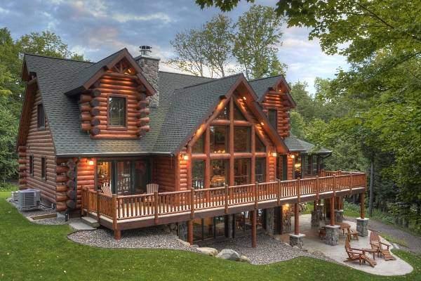 Case Di Tronchi Americane : Foto di case bellissime affordable laspetto esterno della vostra
