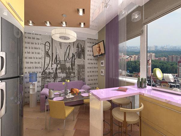 Illuminazione Ingresso Appartamento : La disposizione di un appartamento di due stanze