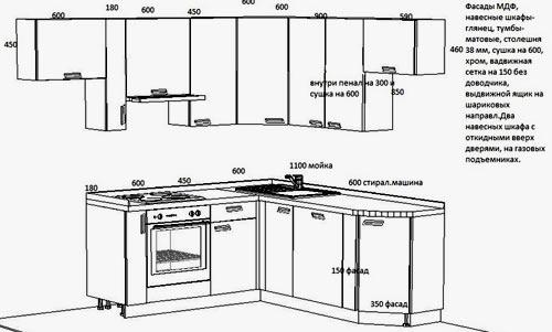 Как сделать кухню своими руками схемы 34